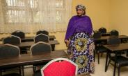 Nigerian Minister of Women Affairs and Social Development Aisha Alhassan, pictured in May 2017, vowed to back President Muhammadu Buhari's opponent in  2019 if he breaks his promise to not seek re-election.  By SUNDAY AGHAEZE (PGDBA & HND Mass Communication/AFP/File)