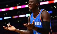 Oklahoma City Thunder guard Victor Oladipo, pictured in November 2016, has joined the roster for the NBA's Africa Game lineup, which includes players from across the NBA who are either from Africa or have an African parent.  By Harry How (GETTY IMAGES NORTH AMERICA/AFP/File)
