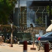 On March 2, jihadists carried out a coordinated attack in central Ouagadougou, targeting the country's military headquarters and the French embassy.  By Ahmed OUOBA (AFP)