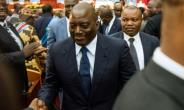 Opponents of Congolese President Joseph Kabila (C) accuse him of delaying the presidential vote in the hope of tweaking the constitution to extend the Kabila family's hold over the nation.  By Junior D.Kannah (AFP/File)
