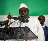 Opposition frontrunner Soumaila Cisse has warned of potential fraud in Mali's upcoming presidential election on July 29.  By Michele CATTANI (AFP/File)