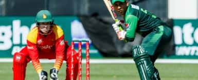 Pakistan captain Sarfraz Ahmed, batting, hailed their ODI win over Zimbabwe as a