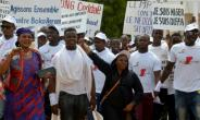 People take part in a march against  Islamist group Boko Haram in Niamey.  By BOUREIMA HAMA (AFP/File)