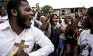 Protesters in the Democratic Republic of Congo called for President Joseph Kabila to step down.  By John WESSELS (AFP/File)