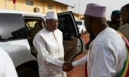 Prime Minister Soumeylou Boubeye Maiga flew to troubled central Mali last week to make a show of support.  By MICHELE CATTANI (AFP)