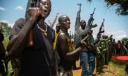 Rebels of the Sudan People's Liberation Movement-in-Opposition (SPLM-IO) take part in a military exercise at their base in Panyume, South Sudan, near the border with Uganda, despite a peace deal signed in September 2018.  By SUMY SADURNI (AFP/File)