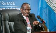 Rwanda's Minister of Foreign Affairs Richard Sezibera accuses neighbouring Uganda of 'supporting' an anti-Kigali rebel movement.  By Cyril NDEGEYA (AFP)