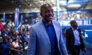 South African opposition party, Democratic Alliance (DA) leader Mmusi Maimane was elected unopposed on April 8, 2018.  By GULSHAN KHAN (AFP)