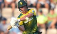 South Africa's AB de Villiers plays a shot during their T20 match against England, at The Ageas Bowl in Southampton, on June 21, 2017.  By Glyn KIRK (AFP/File)