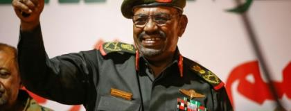 Sudanese President Omar al-Bashir, who is facing deadly nationwide protests against his three-decade rule, may run for a third term in elections set for next year.  By ASHRAF SHAZLY (AFP/File)