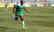 GHANAIAN DEFENDER AKAKPO WILSON SCORES HIS MAIDEN GOAL IN EYPGT FOR AL MASRY.