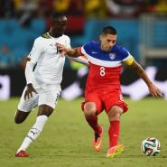 Ghana winger Albert Adomah proud to have World Cup experience over world expensive player Gareth Bale