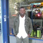 FRANKY. GHACIF RADIO PRESENTER             KWAME a.k.a  BONSOIR
