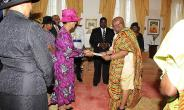 Ghana's High Commissioner To The Bahamas Present Letters Of Credence