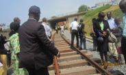 Board Members of Ghana Railway Development Authority inspect work