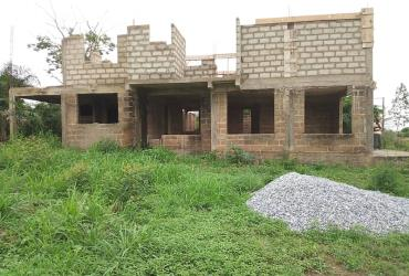 Uncompleted 4bedroom house for sale at Kokrobite