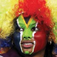 In living colour: South Africa 2010 was the Rainbow World Cup.  Photo: REUTERS