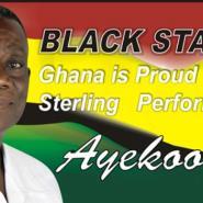 President Mills' poster celebrating the Black Stars