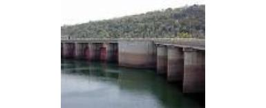 Water level at Akosombo Dam