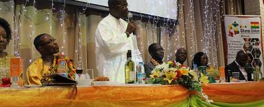 Ghana Union, Midlands Celebrate Ghana's 56th Independence