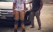 Ex-EME Star, Skales Gets New Car, Visits Timaya