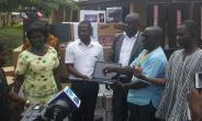 Mp And Dce Donate Items To Five Schools In Prestea Huni-valleydistrict.