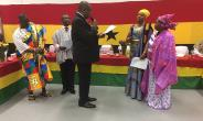 High Commissioner Victor Smith Swears In The National Council Executives In The Uk