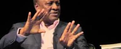 Ghanaians In UK Chase Out John Mahama