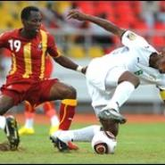Badu played his heart out for Ghana