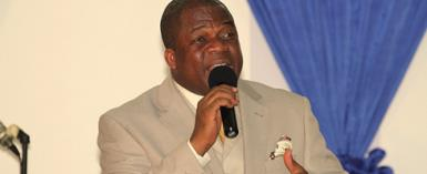 The Lead Pastor of  Cerda Mountain, Assemblies of God, Ghana International Church[CMC] Rev. Dr Stephen Wengam