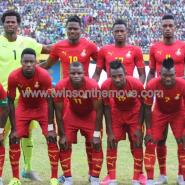 Ghana's line-up which defeated Rwanda 1-0 in Kigali on Saturday in a 2017 Africa Cup of Nations qualifier.