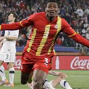 Gyan nominated for Golden Ball award