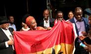 Ambassador Smith Honours Akosua Busia