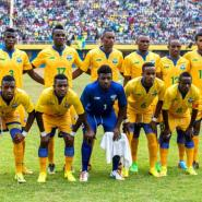 Rwanda players who started against Ghana.(Timothy Kisambira)