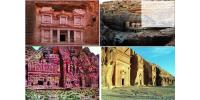 These Picture Showed The Archaeological Discovery  Of Thamud's Carved-Out Buildings From Hard Rocks And Cliffs. Indicating Their Amazing Skills & Expertise In Construction And Masonry