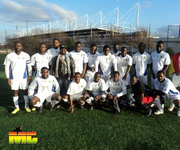 BLACK SPEARS FC.THE DREAM TEAM IN PARIS